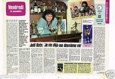 Coupure de presse Clipping 1986 (2 pages) Joel Bats