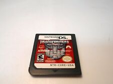 Transformers: Revenge of the Fallen Autobots game (Nintendo DS) xl 2ds 3ds