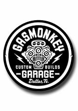 GAS MONKEY GARAGE METAL SIGN, CARS, OIL , ICONIC, TV, AMERICAN, TOOLS