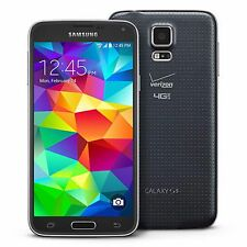 Samsung Galaxy S5 G900V Verizon Smartphone 16GB FAIR CONDITION BLACK