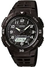 Casio W753-3A Digital 100m Sports Watch Tide Graph 10 Year Battery Moon Dat