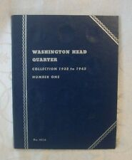 Washington Head Quarter Collection 1932-1945 Number One Album 9018