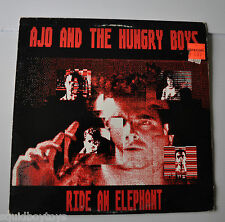 AJO AND THE HUNGRY BOYS: Ride an Elephant LP Record