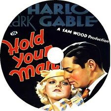HOLD YOUR MAN (1933) Jean Harlow Clark Gable Dorothy Burgess DVD