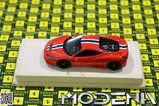 Original Ferrari 458 Speciale rosso 23 Modellauto 1:43 MR Collection wie BBR