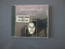 CD DANCES WITH WOLVES - JOHN BARR - Original Motion Picture Soundtrack 7 Awards