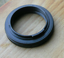contax & yashica SLR t2 mount adaptor used , japan