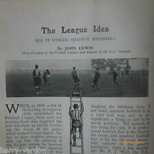 Antique Golf Braid FA Amateur Football League Cycling Lacrosse Sea Fishing 1906