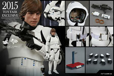 HOT TOYS 1/6 STAR WARS MMS304 LUKE SKYWALKER STORMTROOPER DISGUISE VER FIGURE UK