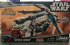 Star Wars Clone Wars Tiger Shark Republic Gunship Saga Collection 2006 Moc