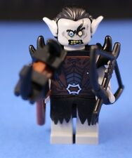 LEGO® THE HOBBIT™ BOLG / PALE ORC Custom Minifigure + Black Spiked armor & MORE!