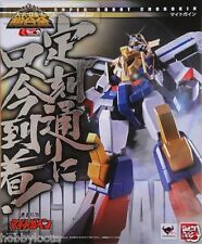 Bandai Super Robot Chogokin The Brave Express Might Gaine + Trident Stage Stand