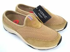VIONIC Orthaheel Technology Action Heritage Women's Sand Slide Shoes Size 6 NEW