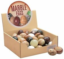 Joblot box 45 marble & onyx eggs easter egg hunt collection shop display 2 ""