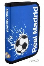 NEW REAL MADRID PENCIL CASE WITHOUT EQUIPMENT FOR KIDS BOYS FOOTBALL FANS