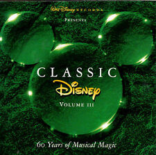 Classic Disney, Vol. 3 [Blister] by Disney (Cassette, Jul-1996, Walt Disney)