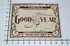 GOODYEAR Aufkleber Sticker Auto Decal Tire Retro Old School Hot Rod OEM Mi249
