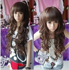 Sale Korean Fashion Long Curly Cosplay Party Women Girl Kawaii Hair Full Wig