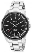 Seiko Men's Kinetic Analog 100m Two Tone Stainless Steel Watch SKA679