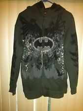 UBER RARE The Black Rhino Exhibit Ecko Batman Hooded Mask Jacket MUST SEE!