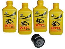 Kit Tagliando 4lt Bardahl XTC 10W40 Filtro Olio 303 HONDA 600 VT C SHADOW 88/00