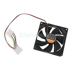 9025 12V Brushless DC 7 Blade 2 Wires Cooling Fan 90x90x25mm Cooler Blower