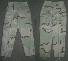 desert camouflage pants, Small Regular 3 color camo combat trousers BDU