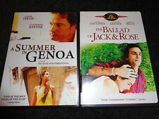 A SUMMER IN GENOA and BALLAD OF JACK & ROSE-2movies-CATHERINE KEENER,COLIN FIRTH