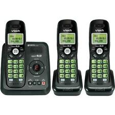 VTech CS6120-31 DECT 6.0 3 Handset Cordless Phone With Digital Answering Machine