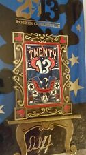 2013 Twenty 13 Disney Poster Collection Pin LE 2000 NEW