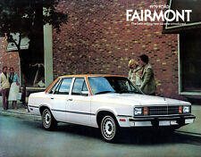1979 FORD FAIRMONT ORIGINAL USA SALES BROCHURE
