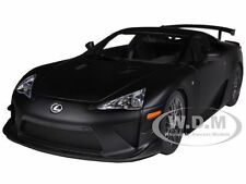 LEXUS LFA NURBURGRING PACKAGE MATT BLACK 1/18 DIECAST MODEL CAR BY AUTOART 78839