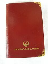 RUBRICA TASCABILE JAPAN AIRLINES VINTAGE ORIGINAL '80
