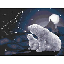 Cross Stitch Kit Polar night