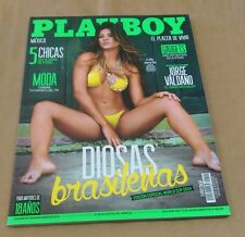 PLAYBOY Mexico Magazine Kelly Amorim June 2014 World Cup Edition