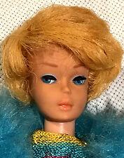 1963 Vtg Bubblecut BARBIE #850 Blond #5 / #6 - Bathing Suit & #1799 Outfiit Doll
