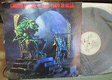 CIRITH UNGOL ONE FOOT IN HELL ORIG lp 1986 METAL BLADE SLAYER METALLICA MEGADETH