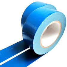 2, 50 METERS x 50mm BLUE GAFFER TAPE, CLOTH DUCK DUCT TAPES, GAFFA