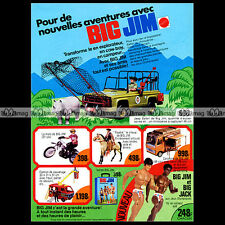 Mattel BIG JIM Jeep Safari 1976 Pub / Publicité / Vintage Action Figure Ad #A222