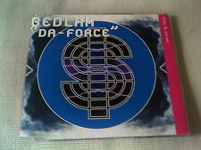 BEDLAM - DA-FORCE - 3 MIX DANCE CD SINGLE