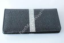 Man's Real Leather Sting Ray Embossed WESTERN RODEO LONG WALLET