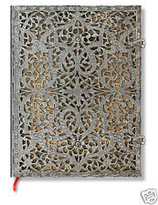 Paperblanks Writing Journal Lined Ultra Size Silver Filigree Natural 7 x 9 New