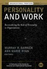 Personality and Work: Reconsidering the Role of Personality in Organiz-ExLibrary