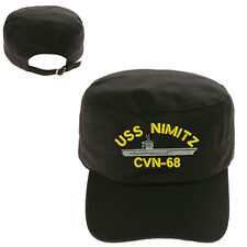 USS NIMITZ CVN-68 SHIP MILITARY CADET ARMY CAP HAT HUNTER CASTRO