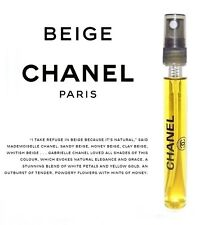 Les Exclusifs de Chanel Beige 12ml Eau de Toilette Travel Spray Perfume 0.40oz