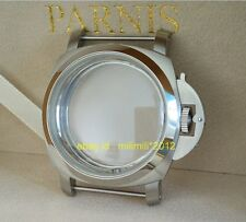 47MM Brushed 316 stainless steel 1950 watch case Apply to ETA 6497 6498