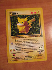 EX Ivy PIKACHU Pokemon PROMO Card #1 Black Star Set Wizard of the Coast League