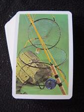 VINTAGE 1970's PACK of  PIATNIK PLAYING CARDS - FISHING - RODS & NETS