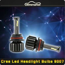 9007 80W 8000LM CREE LED Headlight Kit Hi/Low Beam Bulbs White 6000K High Power