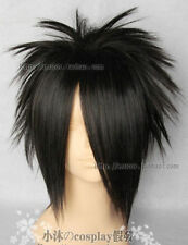NARUTO Uchiha Sasuke Fashion Short Black Cosplay Wig wigs +hairnet